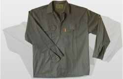 Koedoe Long Sleeve Shirt with roll-up button