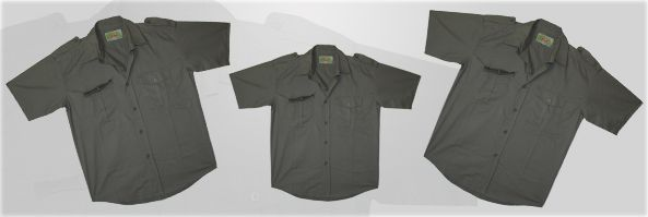 Grey Ghost Short Sleeve Shirt