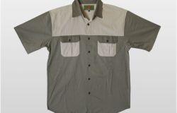 Two Tone Short Sleeve Shirt