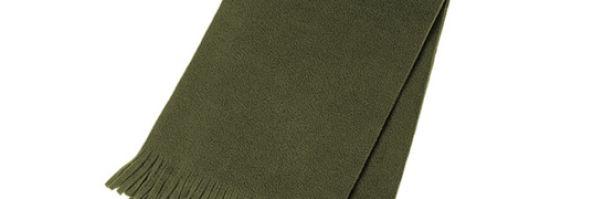 Fleece Scarf – Olyf Groen